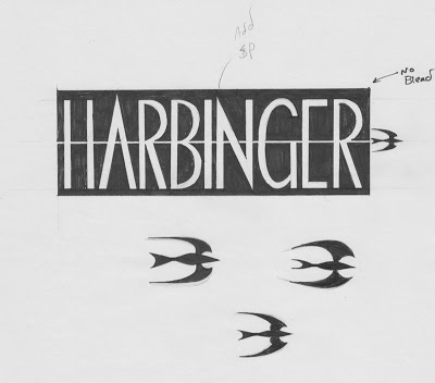 Harbinger logo sketch
